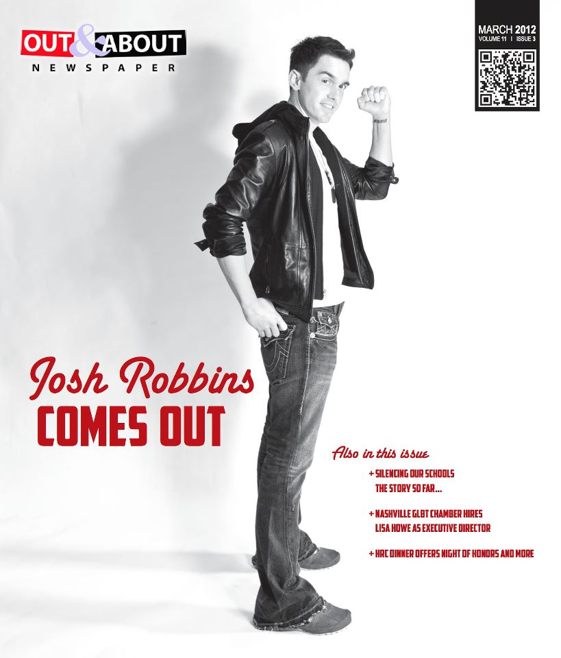 March Cover 2012 for Out & About Newspaper