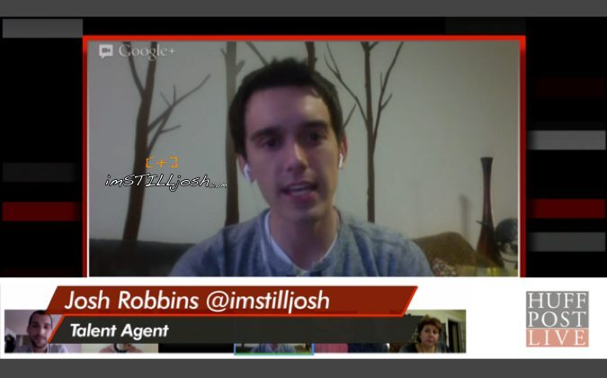 HIV activist and blogger Josh, from imstilljosh.com appears on HuffPostLIVE
