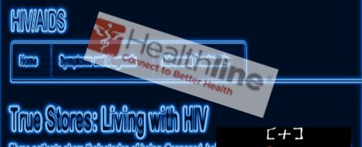 Healthline.com HIV Series includes my story