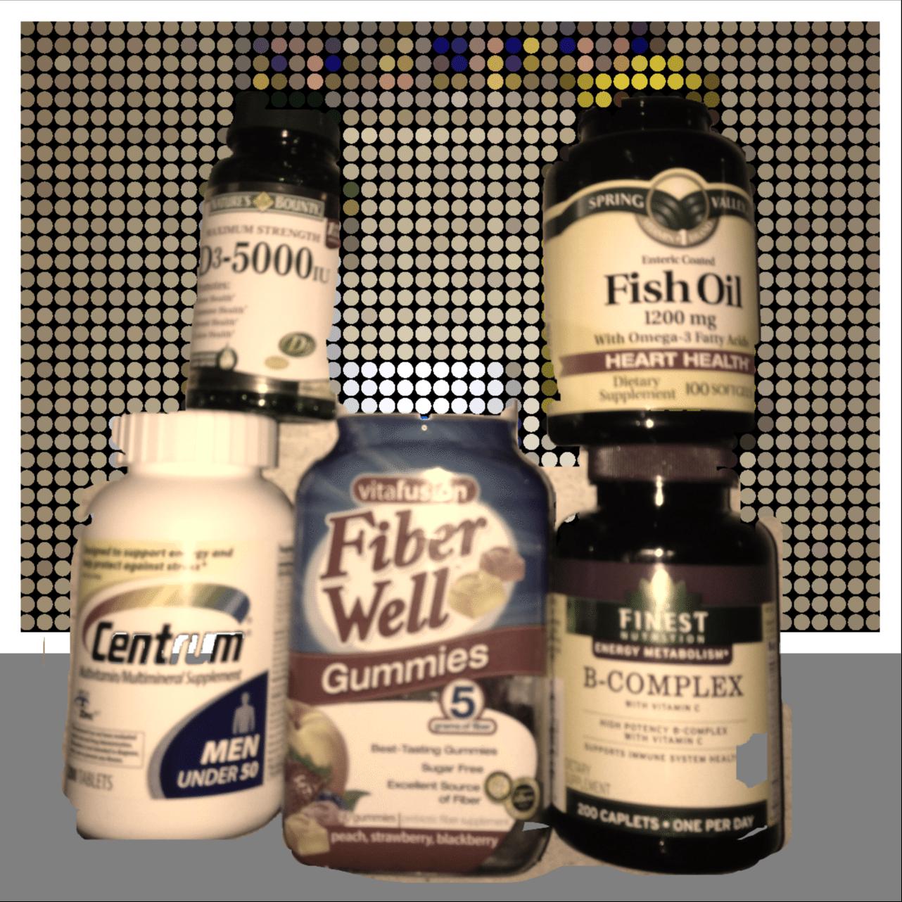 Josh's Daily Vitamins