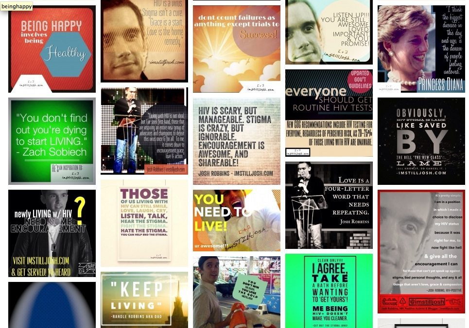 DIGITAL Encouragement Wall for Those Living with HIV