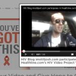 HIV Blog imstilljosh.com Josh Robbins adds video to You've Got This