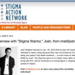 SAN interviews Josh Robbins