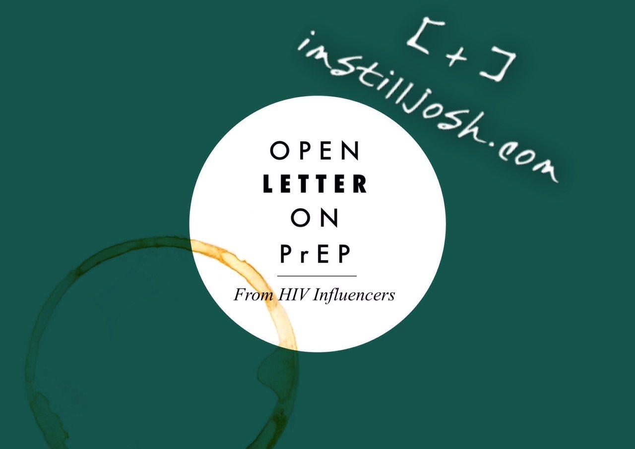 Open Letter on PrEP