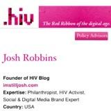 Josh Robbins becomes .hiv Policy Advisor