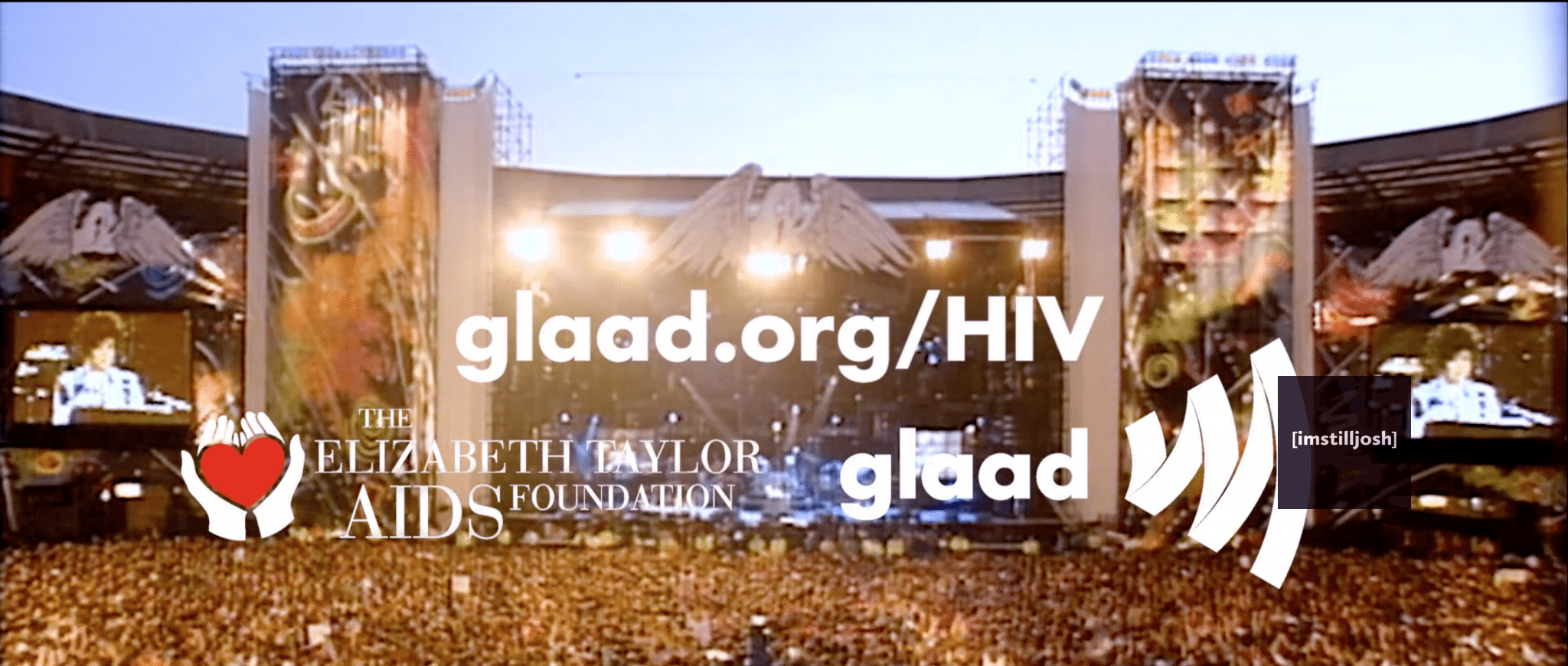 Screenshot of PSA from GLAAD and ETAF