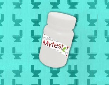 Mytesi Pill Bottle
