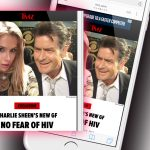 Charlie Sheen Girlfriend Reduces HIV Stigma