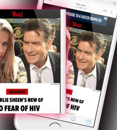 Charlie Sheen Girlfriend Reduces HIV Stigma