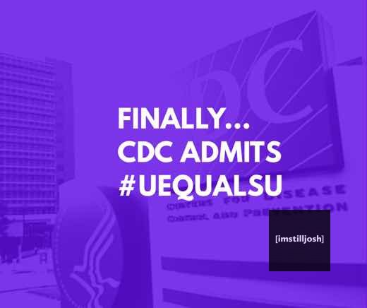 CDC Admits UequalsU