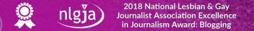 2018 NLGJA Excellence in Journalism Award Winner Blogging Josh Robbins