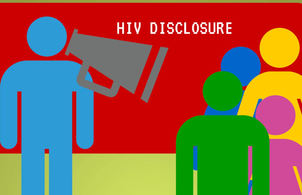 How do I tell someone I have HIV