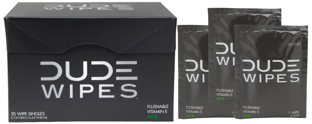 Dude Wipes: Bathroom Wipes for Men