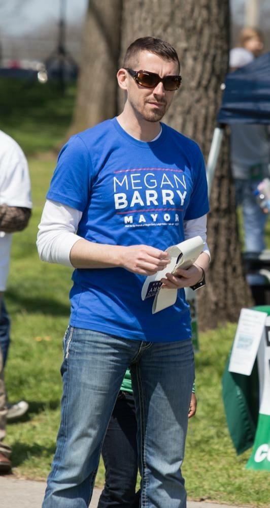 Patrick Hamilton Mayor Berry campaignPatrick Hamilton Mayor Berry campaign