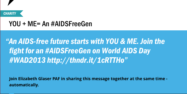 Thunderclap Image for World Aids Day
