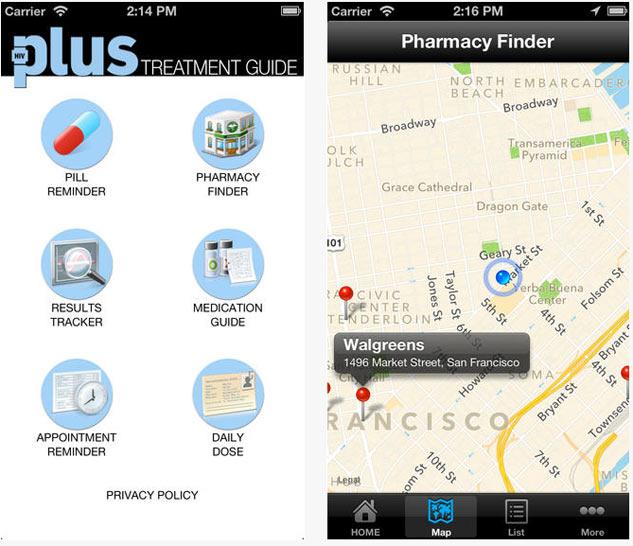 HIV Plus Treatment Guide Mobile App