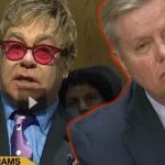 Elton John Testifies to the US Sentate