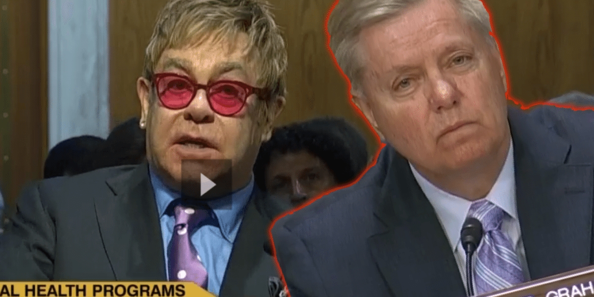 Elton John Testifies to the US Sentate