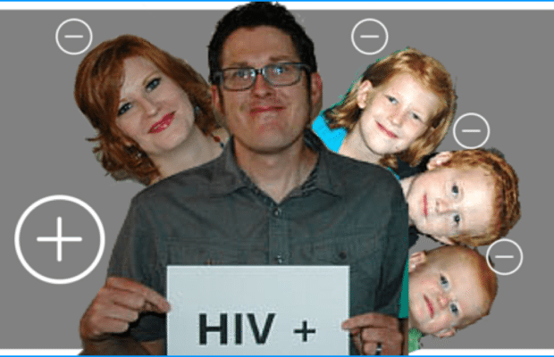 HIV Positive Husband, But Wife and Kids are Negative