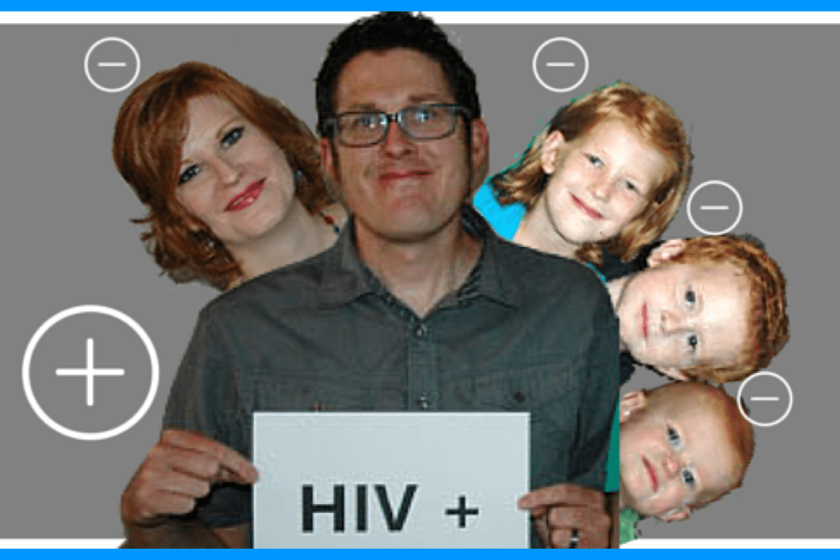 Man Born HIV Positive  But His Wife and   Kids Are Neg I m Still Josh HIV Positive Husband  But Wife and Kids are Negative